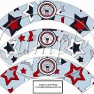 Patriotic  ~  Cupcake Paper Wrappers ~ Set of 1 Dozen