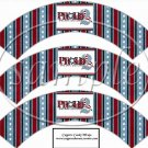 Proud American #2 ~  Cupcake Paper Wrappers ~ Set of 1 Dozen