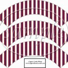 Red, White and Blue Bear #2 ~  Cupcake Paper Wrappers ~ Set of 1 Dozen