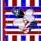 Uncle Sam Ladybugs ~ MINI Candy Bar Wrapper