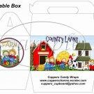 Country Livin'  ~ Gable Box