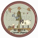 Thankful Hearts Live Here  ~ Cupcake Picks & Toppers