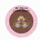 Chocolate Tea Time ~ Cupcake Picks & Toppers