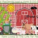 McDonald's Farm ~ Gallon Can Set