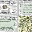 So You Want To Be A Millionaire?  ~ Bag Topper 1 Dozen