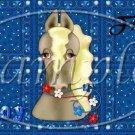 Save A Horse Blue ~ Pint Glass Jar Set