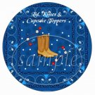 Save A Horse Blue ~ Cupcake Picks & Toppers