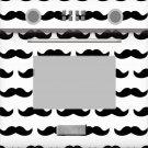 Oven Cupcake Box Mustache ~ 1 Dozen