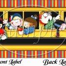 School Bus Driver Back To School ~ School Days Educational  ~ Gallon Can Set