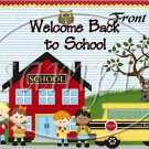 It's That Time Again (Back to School) ~ School Days Educational  ~ Gallon Can Set