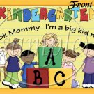 Kindergarten, I'm A Big Kid Now! ~ School Days Educational  ~ Gallon Can Set