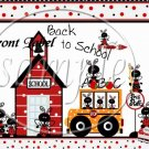 Ladybug Back to School ~ School Days Educational  ~ Gallon Can Set