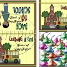 Learning Is Fun (AA Black)  ~ School Days Educational Treat Bag Toppers