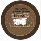 S'Mores Brown  ~ Cupcake Picks & Toppers
