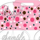 Funky Pink Dots  ~ Gable Gift Snack Box