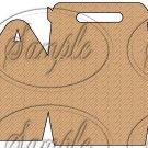 Wood Floor ~ Gable Gift Snack Box