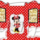 Minnie Faux  Inspired By  ~ Carriage Popcorn Box or Gift Box