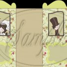 Wedding Bride & Groom  ~ Carriage Popcorn Box or Gift Box