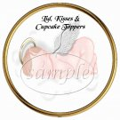Angel Baby  ~ Cupcake Picks & Toppers