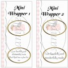 Angel Baby ~ MINI Candy Bar Wrappers