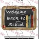 Welcome Back  ~ MINI Candy Bar Wrappers
