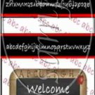 Welcome Back  ~ Mint Matchbook Cover