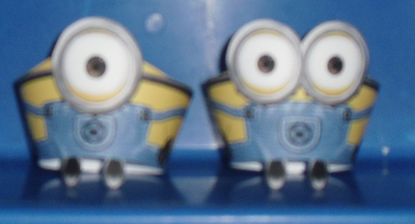 Minions Minion with Feet Faux or Inspired By ~  Cupcake Paper Wrappers ~ Set of 1 Dozen