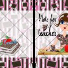 Note for Teacher  ~ Post It Note ® Cover