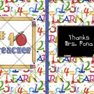 #1 Teacher  ~ Post It Note ® Cover