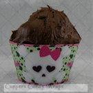 Skull  ~  Cupcake Paper Wrappers ~ Set of 1 Dozen