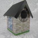 Brick Church ~  Mini Birdhouse