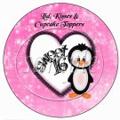 Look Who's 16  ~ Cupcake Picks & Toppers