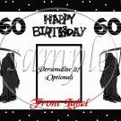 60th Birthday Grim Reaper ~ Gallon Can Set