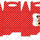 Minnie Mouse Faux or Inspired by Disney ~ Gable Gift or Snack Box