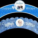 Frozen Cast Faux or Inspired by Disney~  Cupcake Wrappers ~ Set of 1 Dozen
