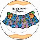 Halloween Frog ~  Cupcake Pick & Toppers ~ Set of 1 Dozen