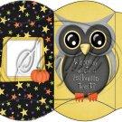 Owl Halloween #2 ~ Pillow Box