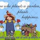 Plants A Garden ~ Gallon Can Set