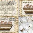 Resurrection Cookies ~  Treat Bag Topper