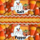 Candy Corn  ~ Salt & Pepper Shaker Wrappers