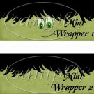 Friendly Frankie  ~ MINI Candy Bar Wrappers