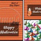 Baby in Halloween Pumpkin ~  Treat Bag Topper