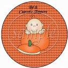 Baby in Halloween Pumpkin ~  Cupcake Pick & Toppers ~ Set of 1 Dozen