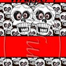 Halloween Skull  ~ MINI Candy Bar Wrappers