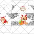 Not Beary Scary Spider Web ~ Gable Gift or Snack Box
