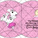 Boogie Ghost Pink Webs ~ Pillow Box