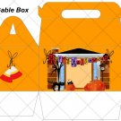 Magic of Halloween ~ Gable Gift or Snack Box