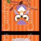 Autumn Greetings ~ MINI Matchbook Nail File COVER