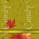 Autumn Leaves  ~ MINI Matchbook Nail File COVER