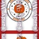Cat & Pumpkin Halloween ~ MINI Matchbook Nail File COVER